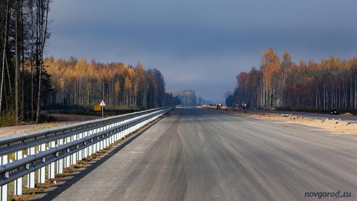 Строительство автомагистрали М11: участок от Мясного Бора до Санкт-Петербурга