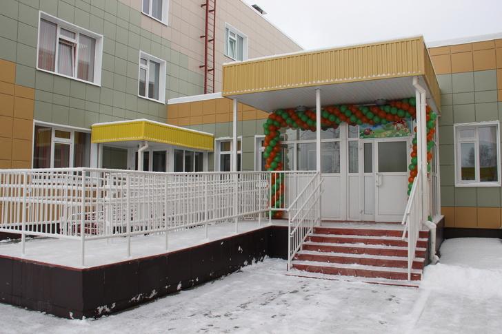 Детский сад на 220 мест открылся в Новосибирской области