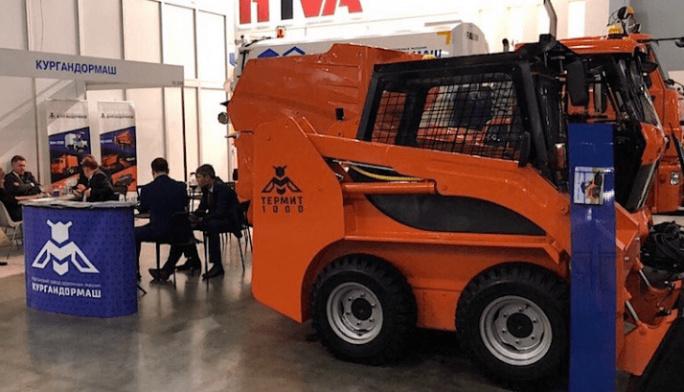 Курганский завод дорожных машин приступил к испытаниям нового малогабаритного погрузчика