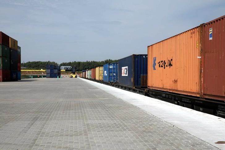 Первый регулярный контейнерный поезд прибыл из Китая в Московскую область