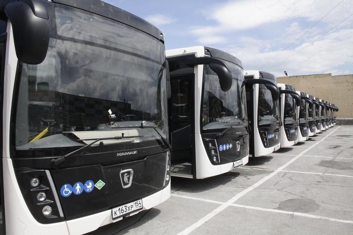 Новосибирск получил 40 новых автобусов