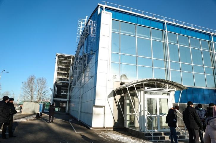 В городе Свободном в рамках Единой субсидии завершили строительство спорткомплекса
