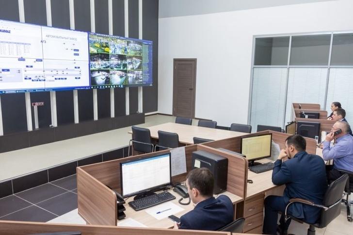 """На """"КАМАЗе"""" появился центр управления производством"""