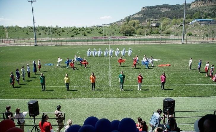 Третья по счёту тренировочная площадка к Чемпионату мира по футболу открыта в Кисловодске
