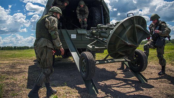 Мотострелки в Самарской области получили минометы 2С12 «Сани»