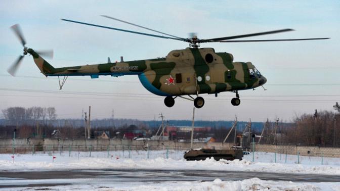 Минобороны РФ получило новые вертолеты Ми-8МТВ-5-1