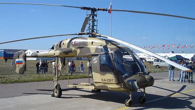 «Вертолеты России» передали Росгвардии первый вертолет Ка-226Т