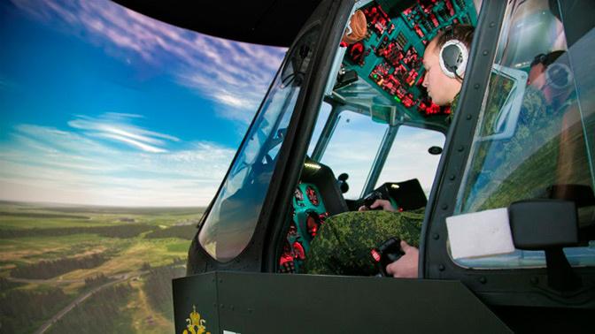 АО ЦНТУ «Динамика» передало Росгвардии новейший тренажер для вертолета Ми-8МТВ-1
