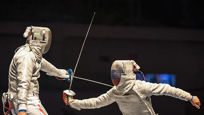 Российские шпажистки выиграли командный турнир на этапе Кубка мира в Барселоне