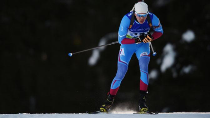 Российский биатлонист Василий Томшин завоевал золото среди юниоров в Эстонии