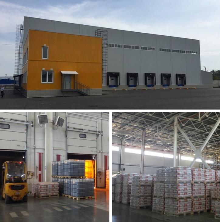 Новый склад БАСФ в Толбино