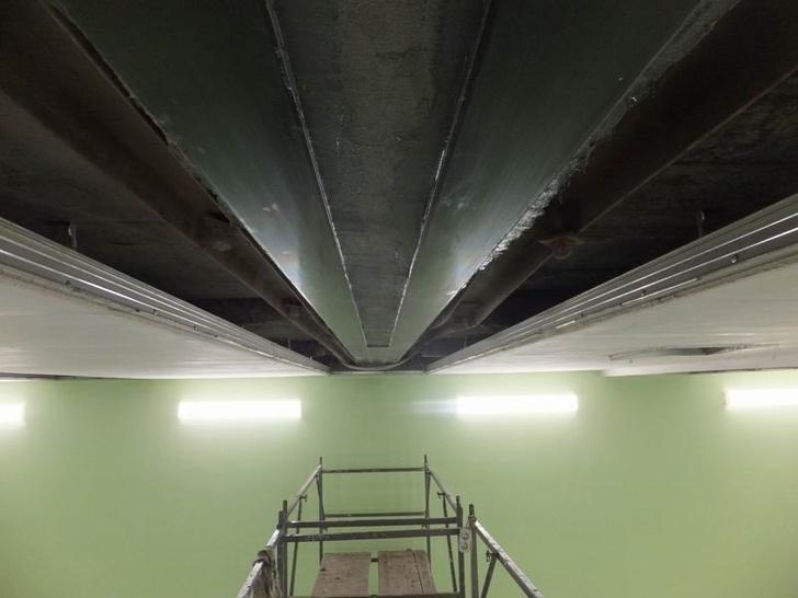 Применение углепластиковых ламелей CarbonWrap толщиной 5 мм.