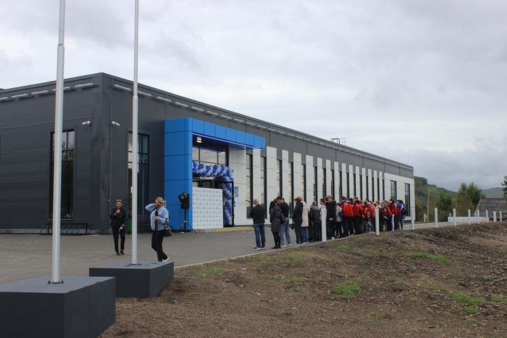 ФОК с двумя бассейнами открылся в Облучье