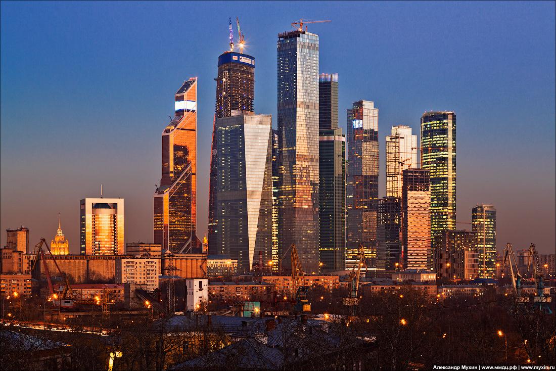 небоскрёбы москва-сити фото