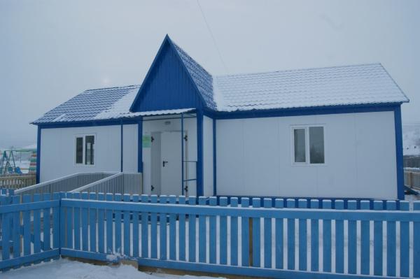 Новый фельдшерско-акушерский пункт начал работу в Большой Ербе