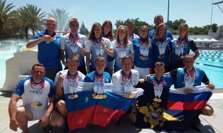 По итогам XVII Всемирных игр полицейских и пожарных Сборная МВД России завоевала 206 медалей