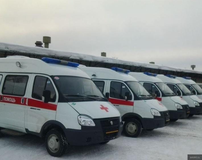 В Костромскую область поступило 10 новых машин скорой помощи