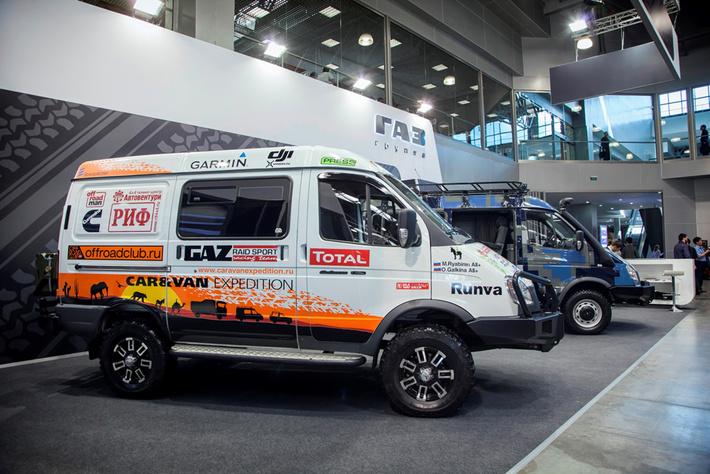 «Группа ГАЗ» представляет автомобили «Соболь 4х4» для путешествий и активного отдыха