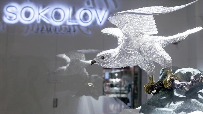 сокол - работа компании SOKOLOV