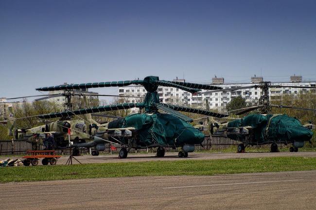 Ка-52 в Арсеньеве готовы для передачи в войска