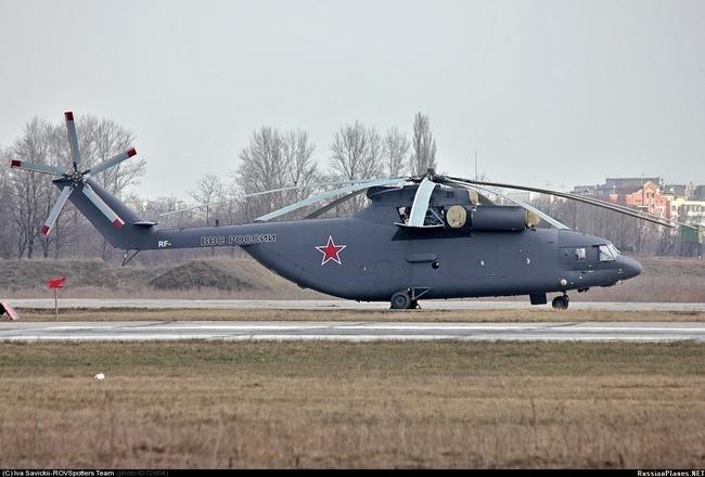 Самый тяжелый в мире транспортный вертолет Ми-26
