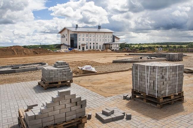 строительство гостиницы 3* (июль 2012 г.)