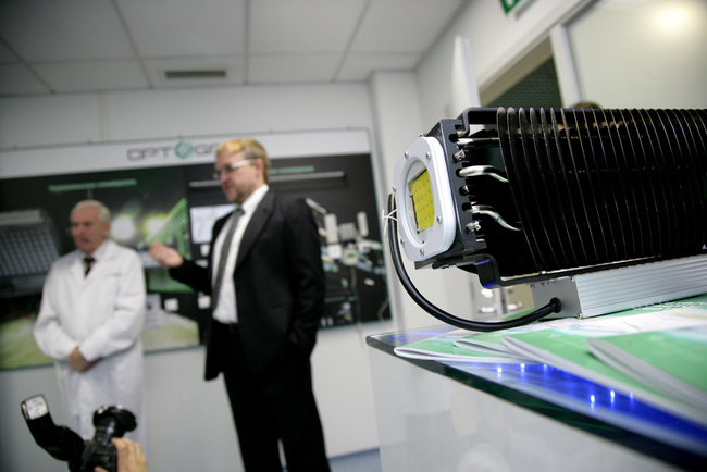прожектор на основе светодиодного модуля Optogan X10