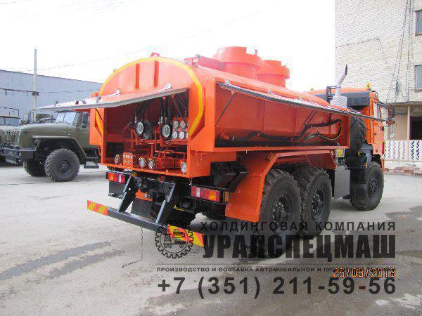 АТЗ выполнен на шасси КАМАЗ-5350