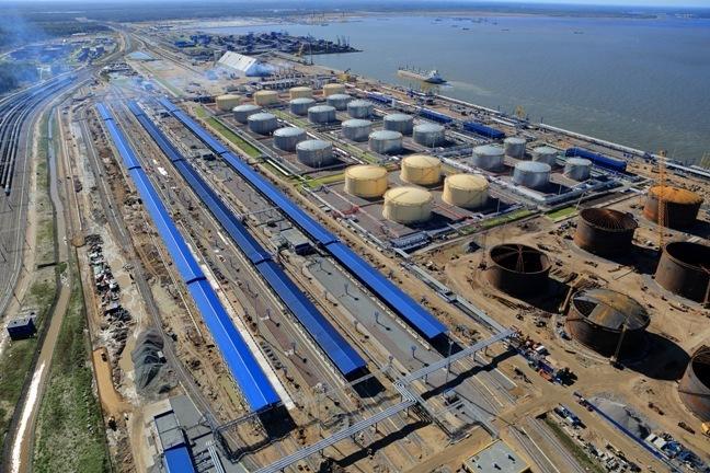Роль морского терминала LUGAPORT для экономики государства