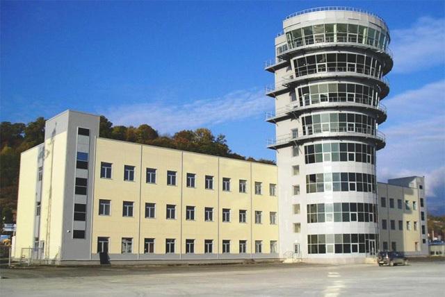 Новый командно-диспетчерский пункт аэропорта Сочи