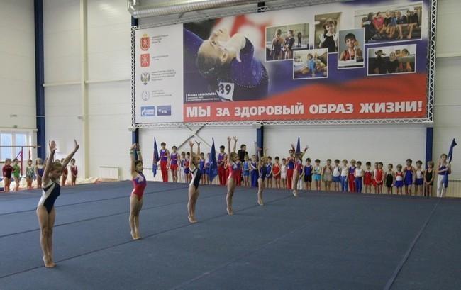 """в ноябре 2011 г. по программе """"Газпром - детям"""" в Туле был открыт гимнастический зал"""