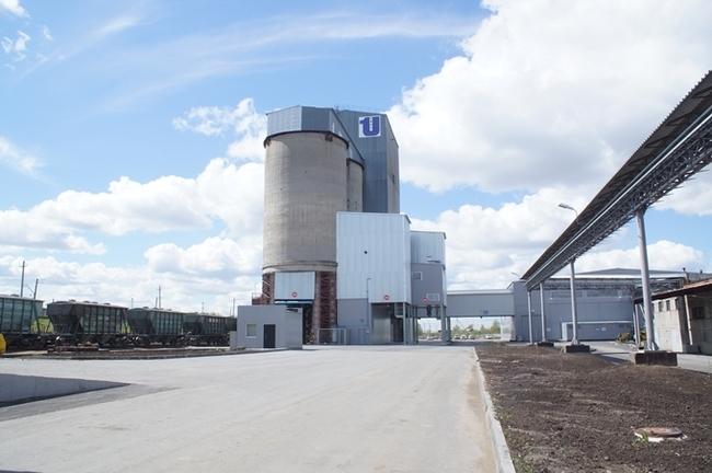 Цементный терминал открылся в Омске