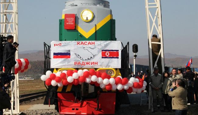 Завершена модернизация железной дороги из России в Северную Корею.  ВЛАДИВОСТОК, 22 сен - РИА Новости.