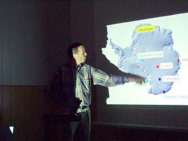 Рассмотр альтернативного проекта подледного телескопа на южном полюсе.