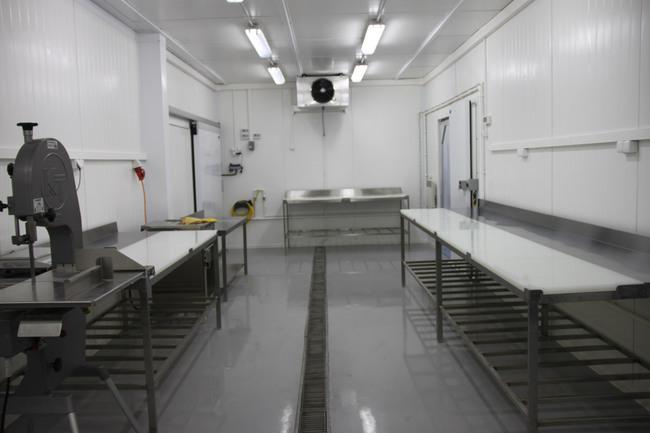 Современный мясной завод