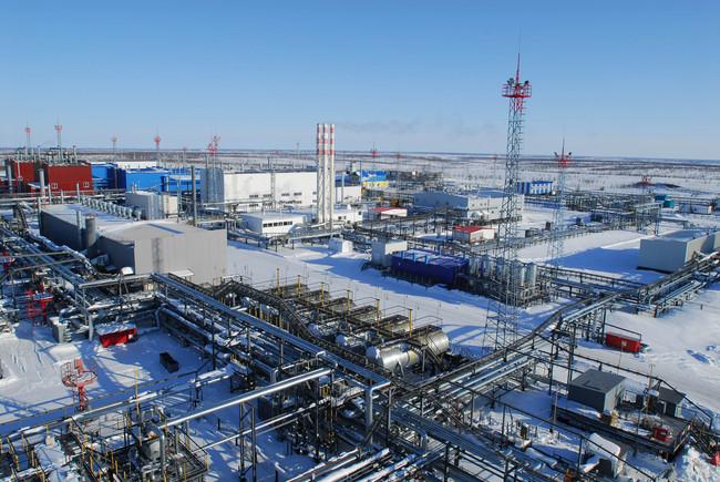 """Заполярное месторождение """"Газпрома"""" стало самым мощным в России — 130 млрд. куб. м. газа в год"""