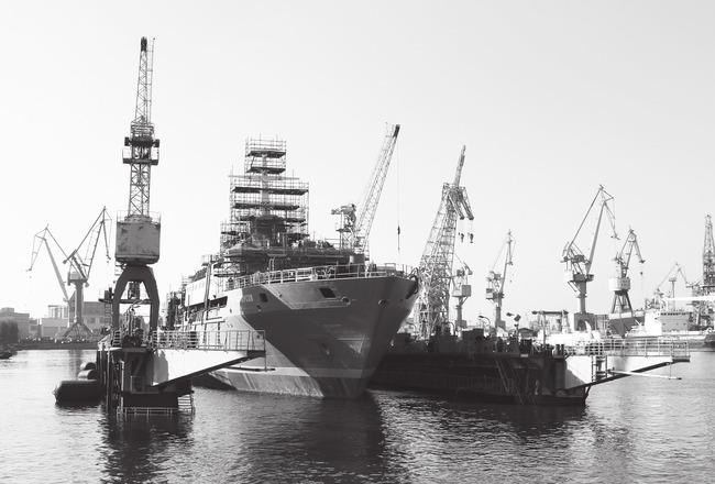 Специалисты цеха № 27 провели докование судна-спасателя с ювелирной точностью!