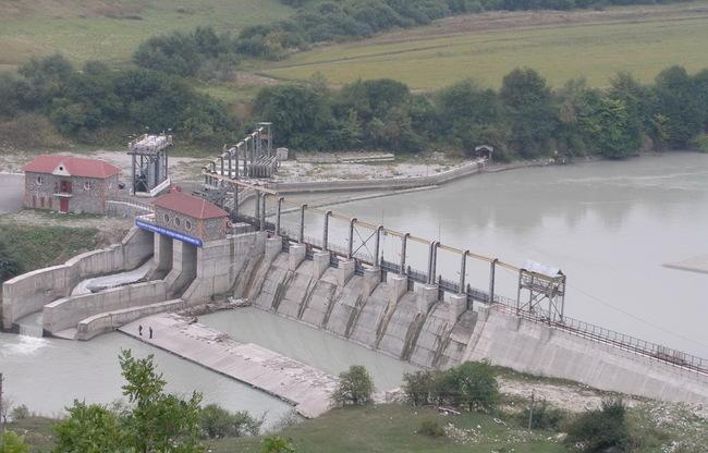 Головной резервный узел Аушигерской ГЭС