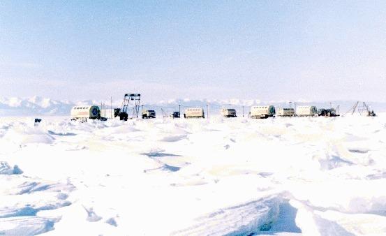Ледовый лагерь. 1987 год.