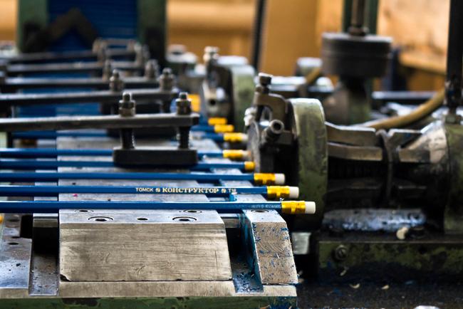 Конвейер для карандашей код краски фольксваген транспортер