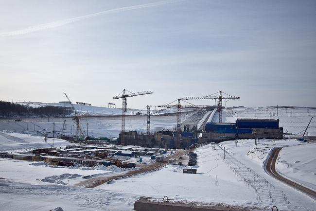 Загорская ГАЭС-2 (февраль 2012 г.)