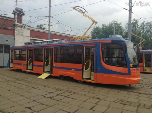 Новые трамваи для Москвы