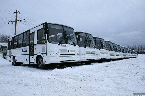 20 новых автобусов для Сыктывкара