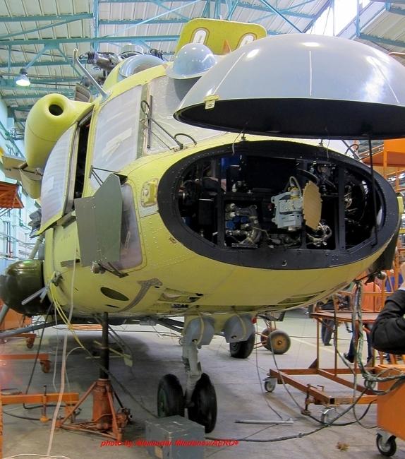 Постройка вертолета Ми-8МТВ-5-1 для Министерства обороны России (с) Александр Младенов/AERO (via vertoletciki.forumbb.ru )