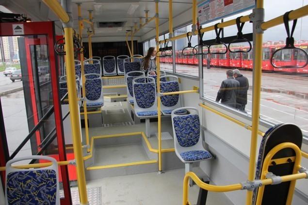 автобусы в Казани купили