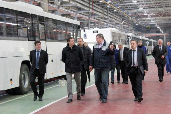 Генеральный директор Транспортной дирекции Андрей Жуков дал высокую оценку качеству олимпийских автобусов ГОЛАЗ.