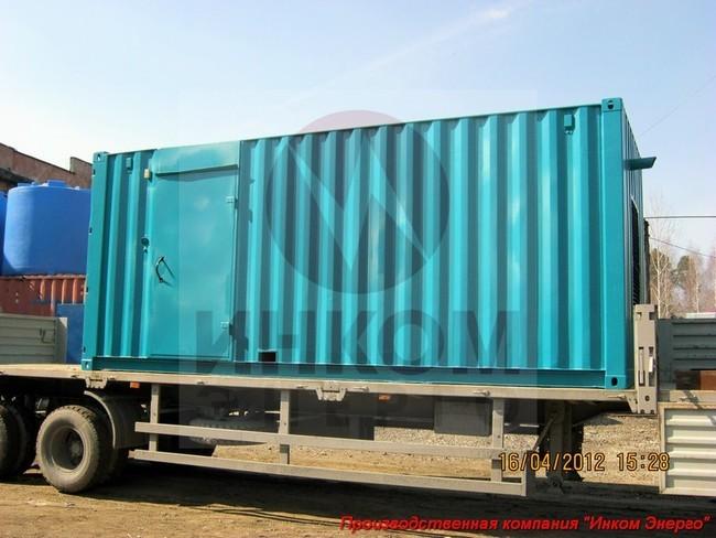 дизельная электростанция 200кВт в контейнере Север