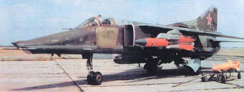 Х-31П на МиГ-27
