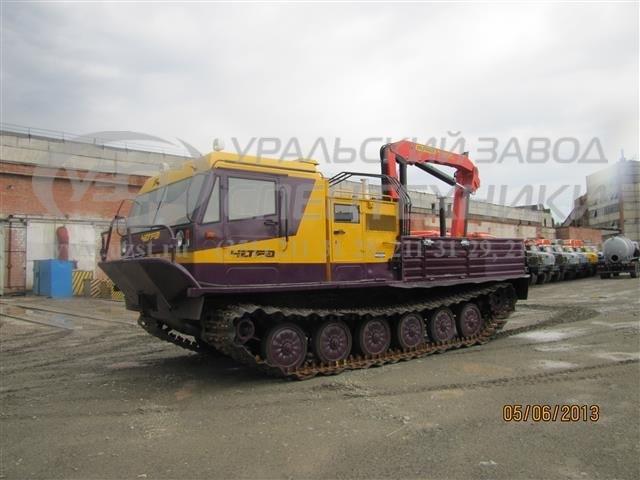 Гусеничные транспортные машины ТМ-140 «Четра» с КМУ Palfinger