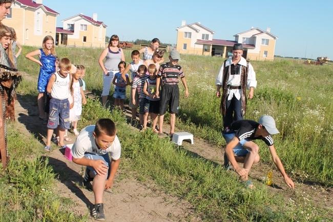 праздник семьи в Городке для Приемных семей (июнь 2012 г.)